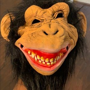 Halloween mask costume monkey